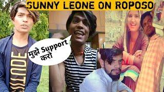 TikTok Star Sunny Leone On Roposo | TikTokers Are Back On Roposo