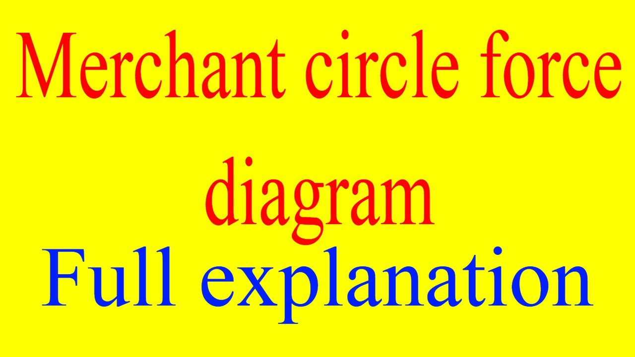 Merchant circle diagram merchant circle theory of metal cutting merchant circle diagram merchant circle theory of metal cutting merchant circle force diagram ccuart Image collections