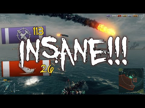 125 639 COMANDER XP !!! Insane XP Farming in Scenario || World of Warships