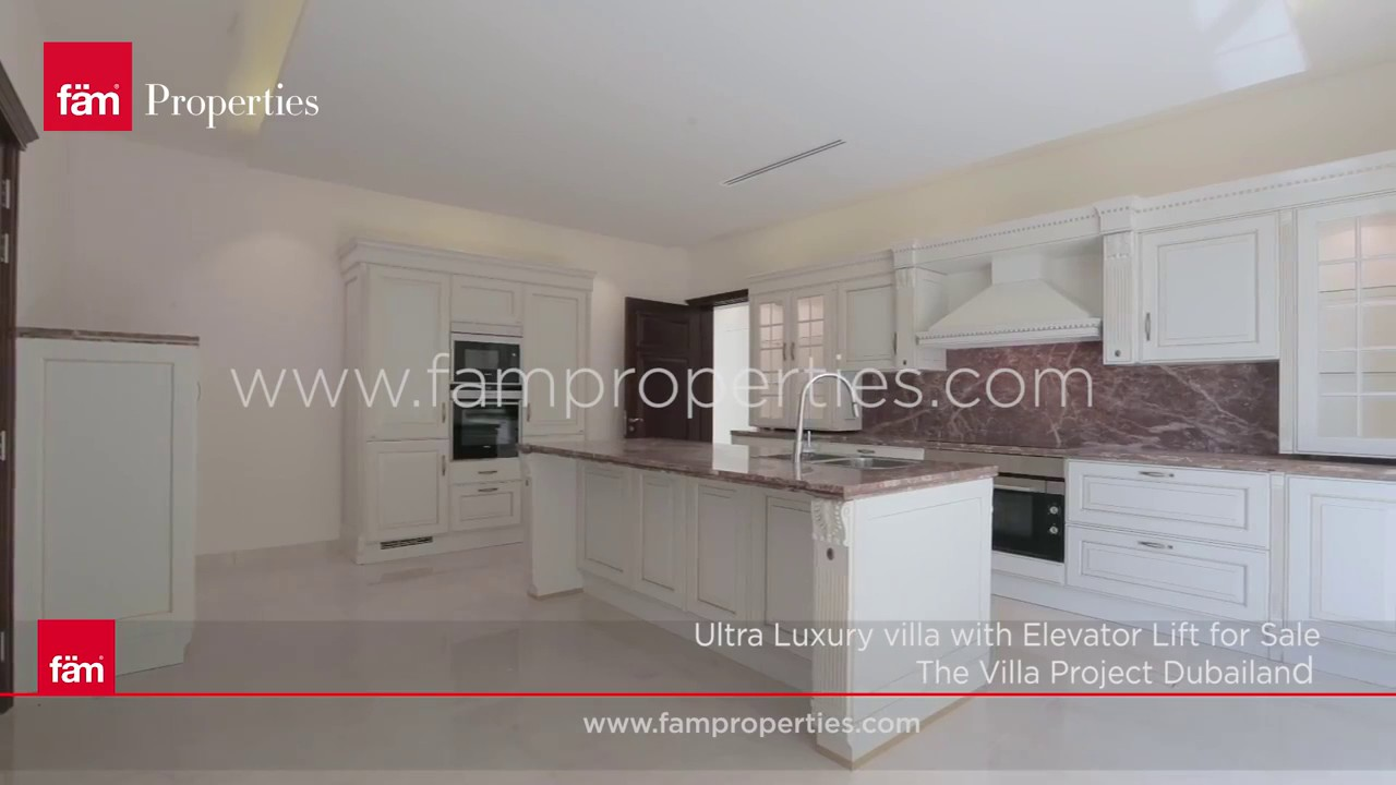 Ultra Luxury Villa With Elevator Lift At The Villa, Dubailand