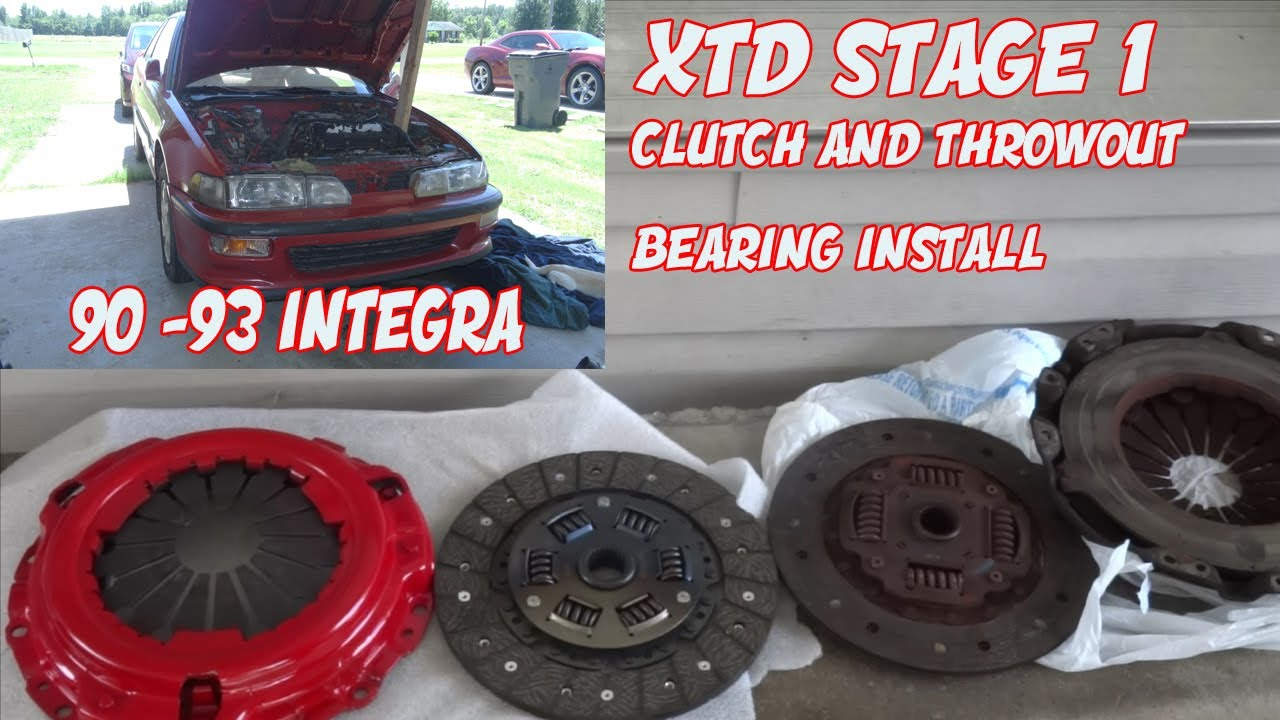 ebay clutch install on 90 92 acura integra and throw out bearing rh youtube com