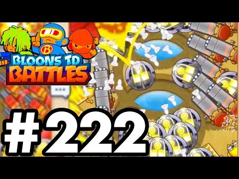 I CAN'T SEE MY SCREEN! | Bloons TD Battles Challenges!  | Bloons TD Battles Part 222