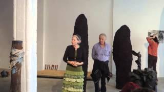 sigalit landau   igael tumarkin exhibition talk excerpt סיגלית לנדאו שיח גלריה יגאל תומרקין