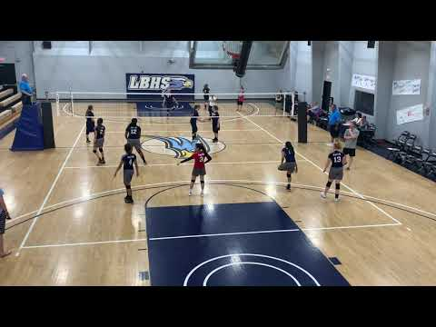 Lancaster Baptist School vs Faith Baptist set 1
