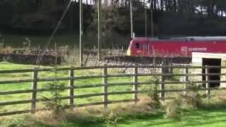 DB Schenker Class 60 & EWS Class 66 @ Harpur Hill (Buxton) Derbyshire