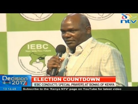 Chebukati's speech at the IEBC commissioners' prayers at Bomas of Kenya