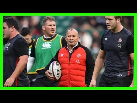 Eddie jones: england boss named world rugby coach of the year