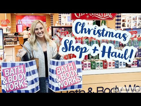 BATH AND BODY WORKS CHRISTMAS SHOP WITH ME + HAUL 🎄 (2019)