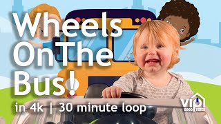 ???? Wheels On The Bus Song | Songs Kids and Babies Love to Watch!