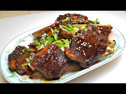 Oven Baked Short Ribs | KPOP Sauce Oven Ribs