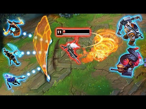 """THE BEST 1v5 OUTPLAYS EVER - Top 50 Greatest """"Solo Outplays"""" - League of Legends thumbnail"""