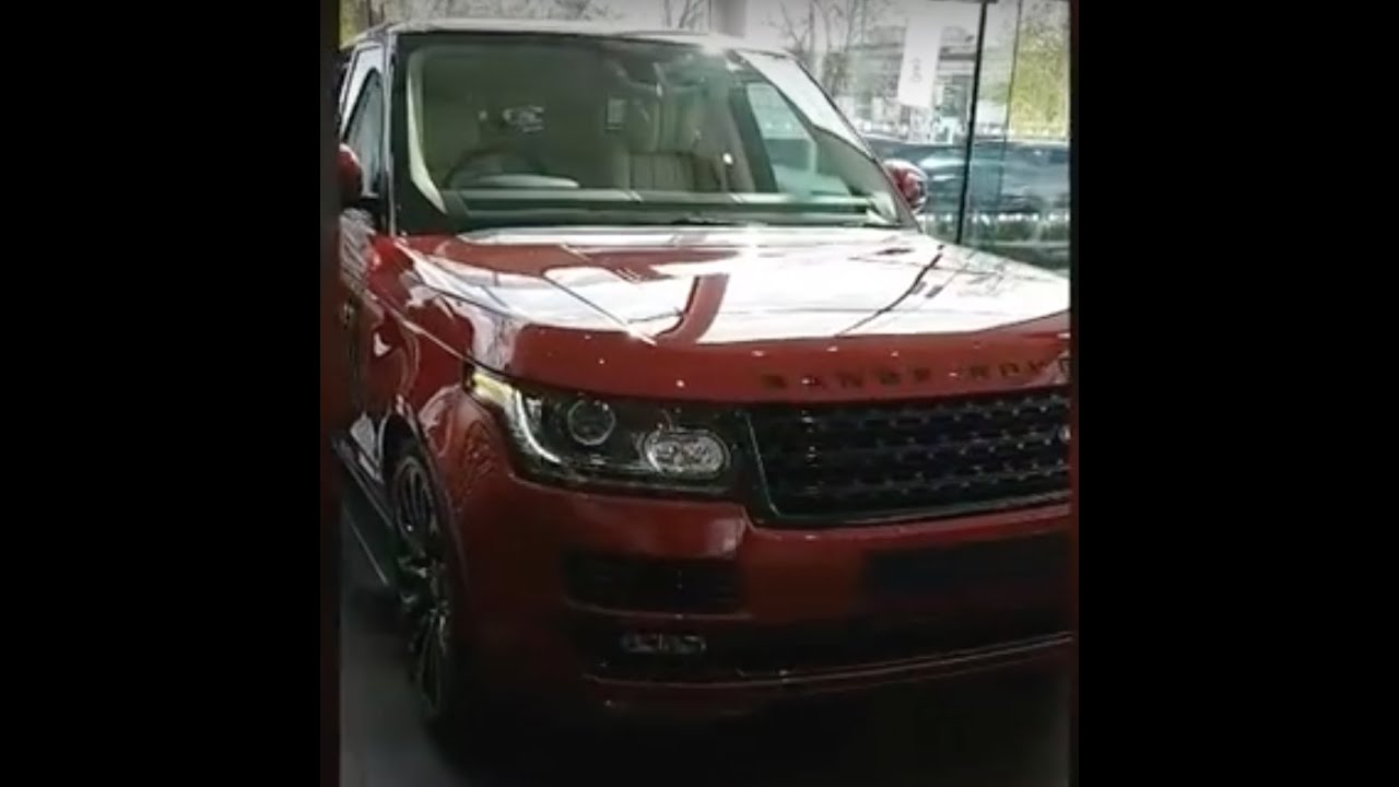 Range Rover Autobiography, Land Rover Showroom UK, Prices