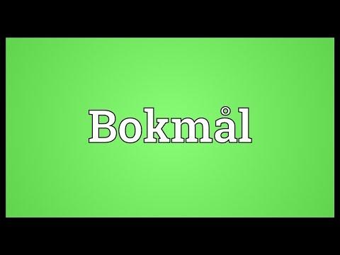 Bokmål Meaning