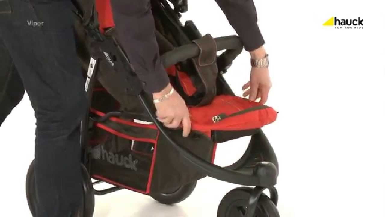 Hauck Shopper Slx Travel System Youtube Hauck Viper Pushchair How To Fold Demonstration Babysecurity
