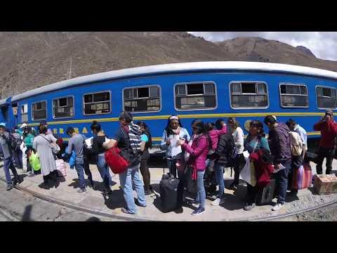 TrainTrain ride to Machu Pichu, Aguascalientes - solo travel