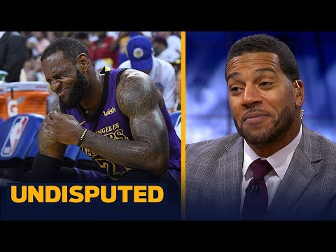 Jim Jackson says the Lakers should be cautious dealing with LeBron's injury | NBA | UNDISPUTED