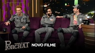 Baixar Danilo Gentili, Léo Lins e Murilo Couto falam sobre novo filme