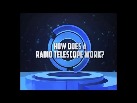 A Question of Science - How Does a Radio Telescope Work?