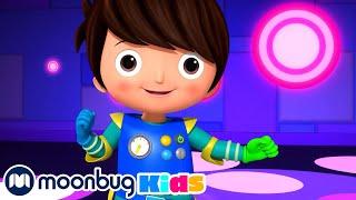 Robot Dance !   Little Baby Bum Junior   Cartoons and Kids Songs   LBB Junior   Songs for Kids