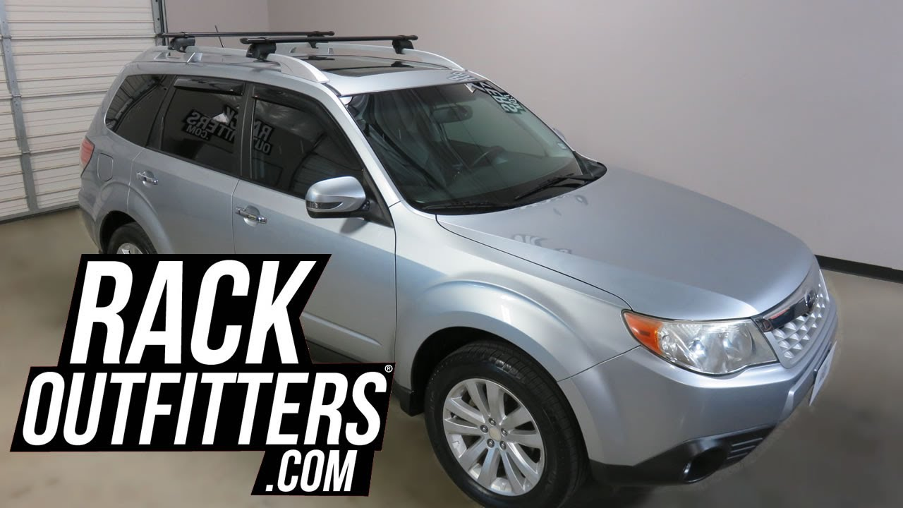 2009 to 2013 Subaru Forester with Yakima Timberline ...