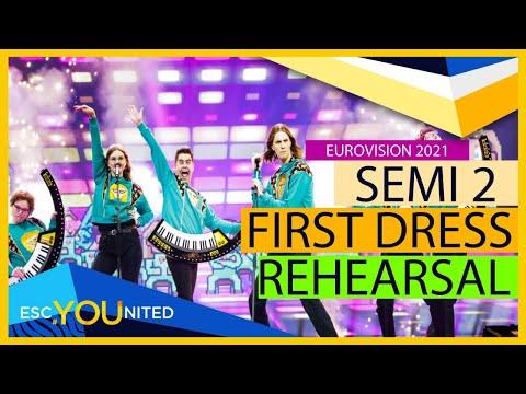 Eurovision 2021: Semi Final 2 JURY SHOW (From Press Center)