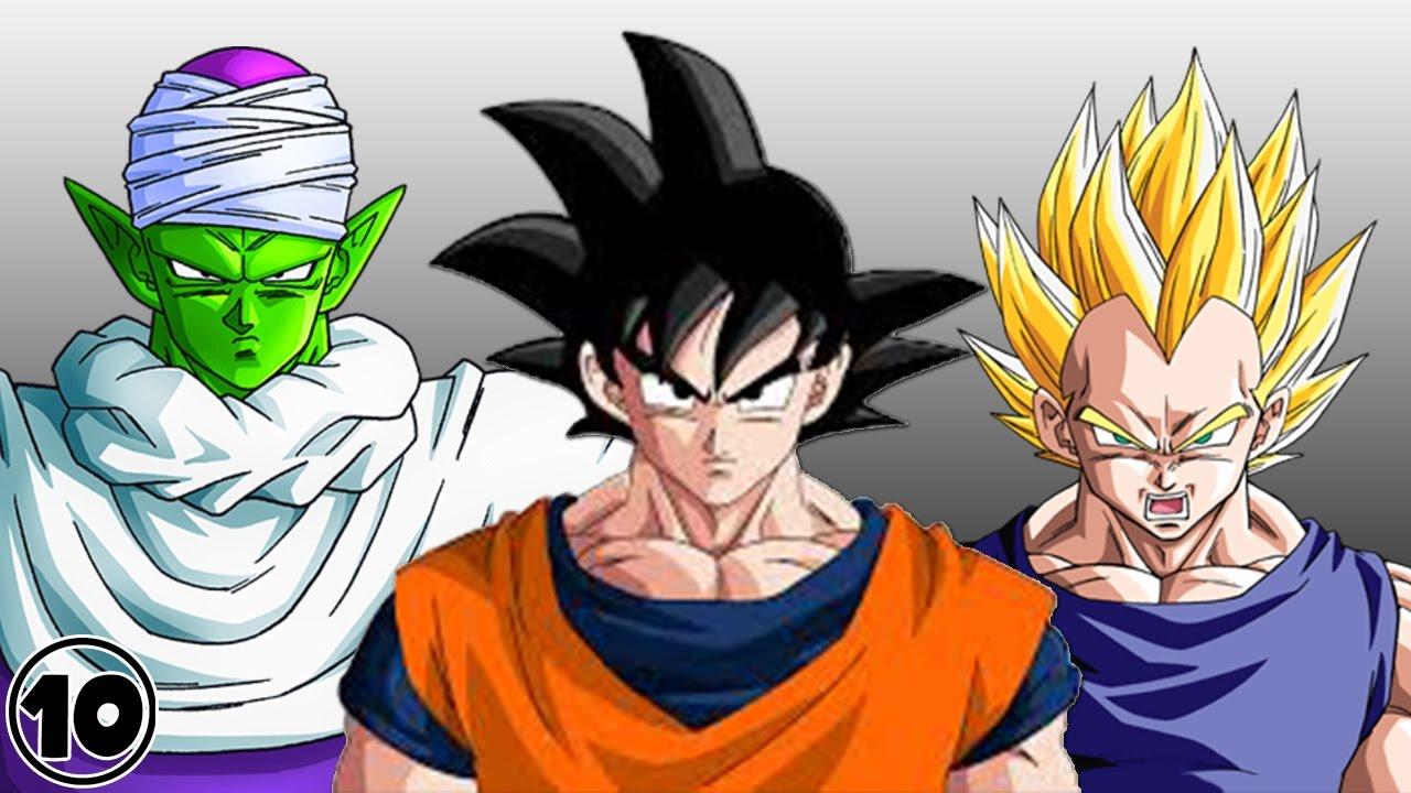 Top 10 Dragon Ball Z Surprising Facts - YouTube