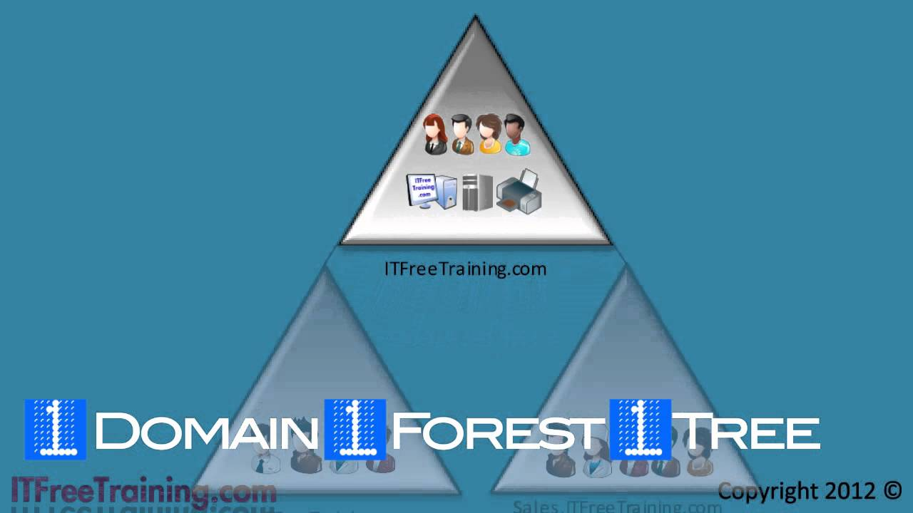 MCITP 70640: Active Directory forest and trees  YouTube