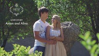 Love Story - Антон и Алина | artix.kz
