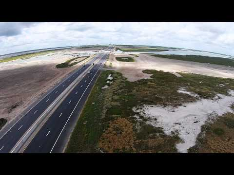 Texas HIghway 48 Aerial View