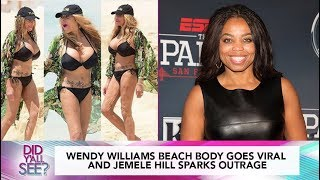 Wendy Williams Get Body Shamed And Jemele Hill Speaks Out Against Trump | Did Y'all See?