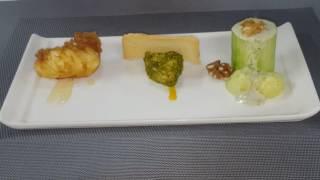 Presentación menú degustación verano 16