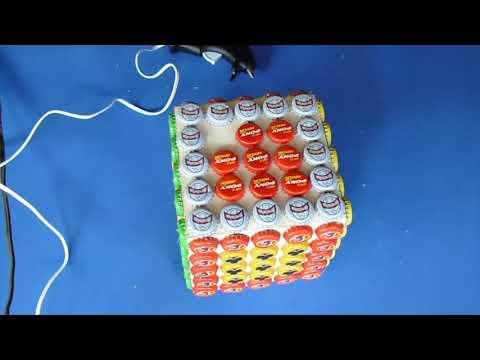 Manualidades Con Reciclaje Caja Con Material Reciclado Youtube