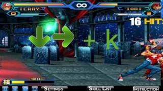 Tutorial COMBOS KOF WING 1.9 nivel: PRINCIPIANTE | RainboWhite