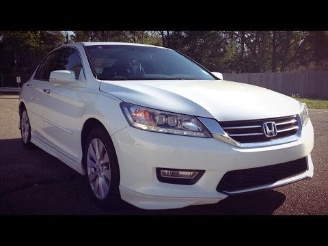 2014 Honda Accord Touring V6 Start Up, Exhaust, Full Review