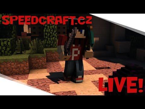 LIVE #19 / Minecraft s Vámi / JEDEME SPEEDCRAFT! / IP: play.speedcraft.cz