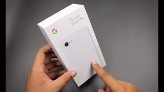 Google Pixel 3 XL India Unboxing & First Look, Camera | Clearly White