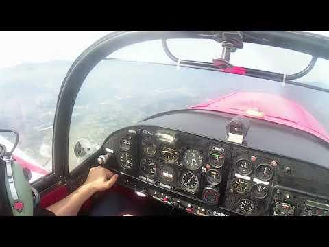 Pilot Salvatore Pavese Acrobatics Training CAP 10BK