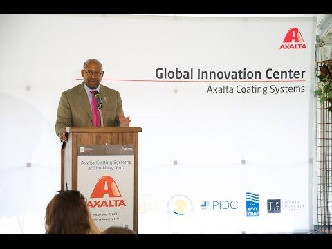 Axalta Announces Development of Global Innovation Center at Philadelphia Navy Yard 2015