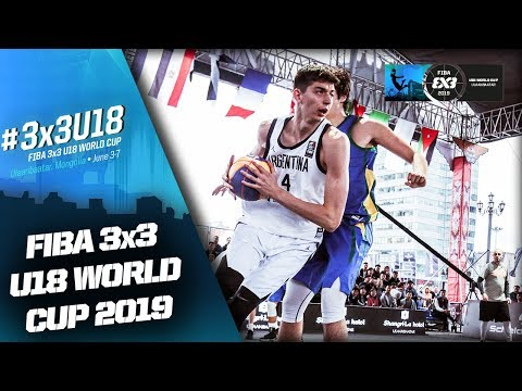 Argentina V Brazil   Men's Full Game   FIBA 3x3 U18 World Cup 2019