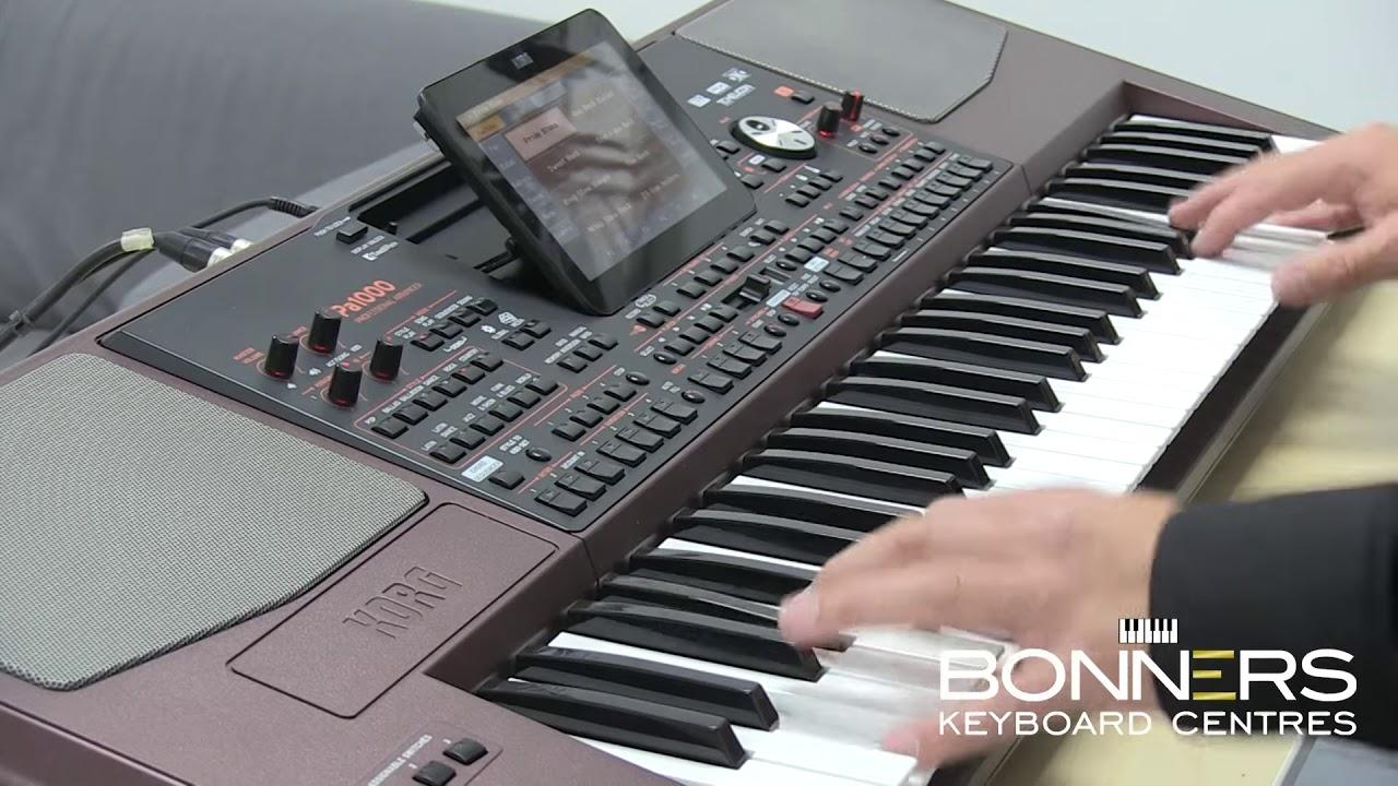 תוספת Korg PA1000 Keyboard New 2017 - YouTube UZ-08