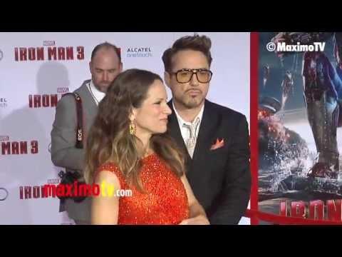 "Robert Downey Jr., Gwyneth Paltrow ""Iron Man 3"" World Premiere"