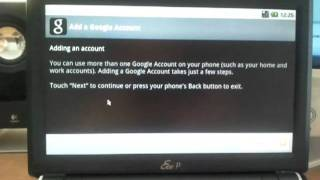 Android 2.2 ruleaza pe netbook