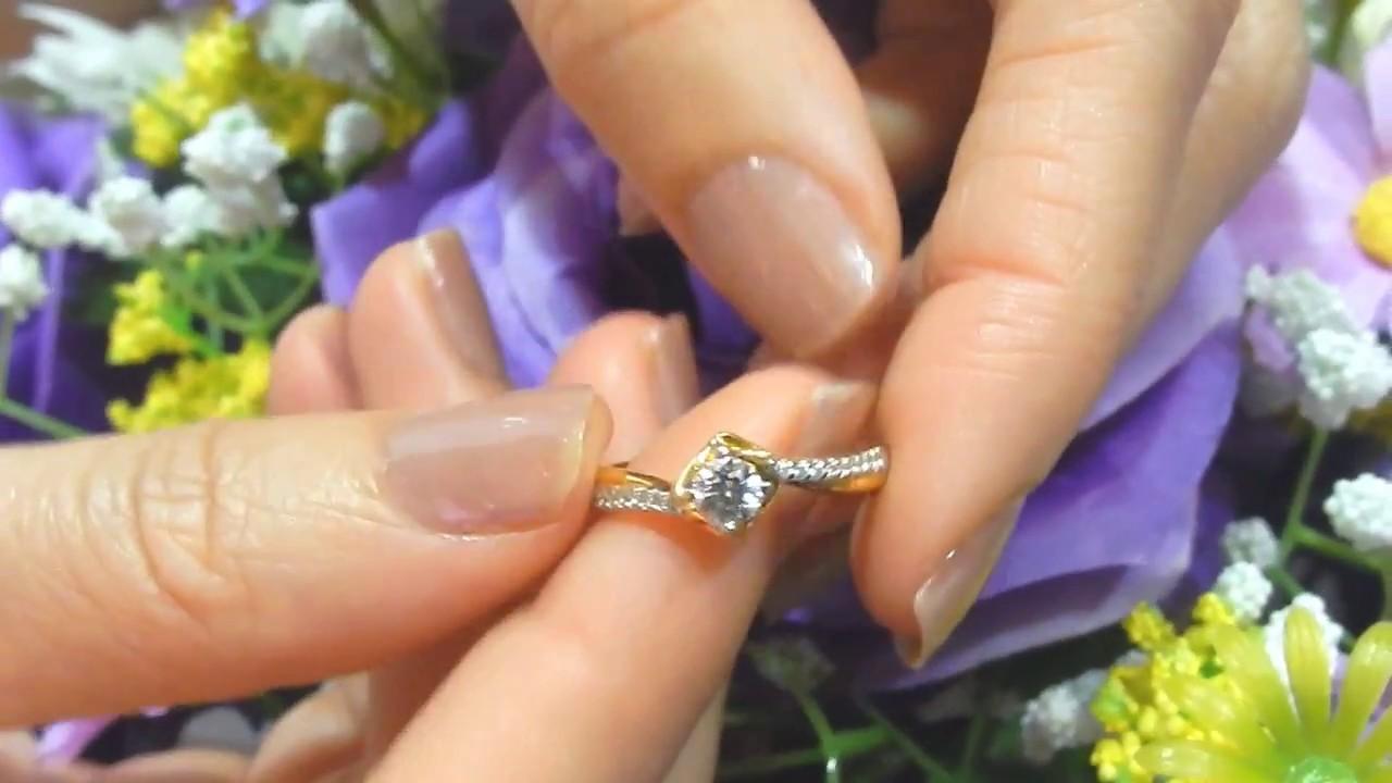 แหวนคู่ รัก แหวนหมั้น แหวนแต่งงาน แหวนกุหลาบ