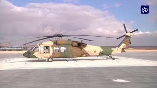 القوات المسلحة تتسلم 12  طائرة بلاك هوك أمريكية - (29-1-2018)