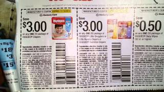 The best deal on Huggies Diapers I've ever seen!
