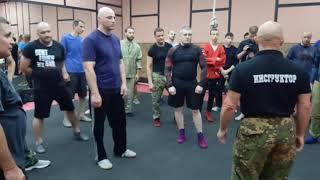В Крючков  Мастер класс в Москве  Встречный бой  часть 2