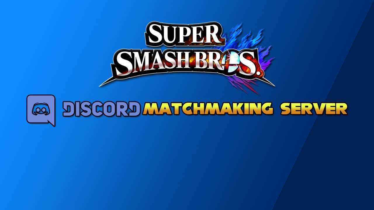 Smash 4 matchmaking discord