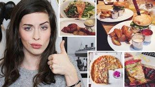 FOOD DIARY #10: Meine Ernährung | EINE WOCHE | Veggie bis Fast Food