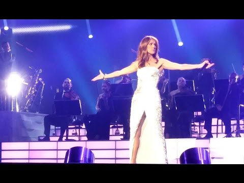 Celine Dion - Incredible belting B5 in The Show Must Go On (23/9/2016)