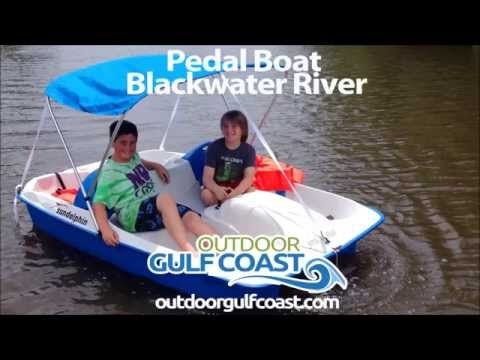 Pedal Boat on Blackwater River